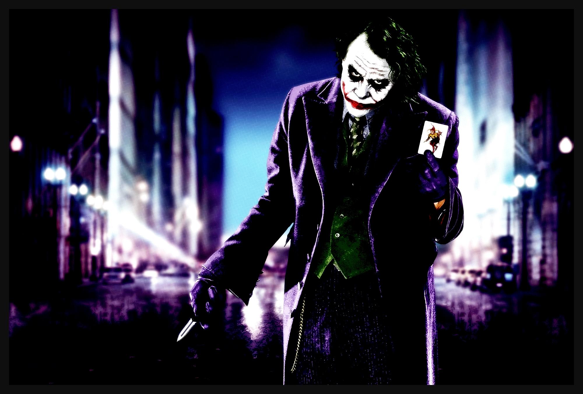 leinwand bild xxl joker batman popart dark knight heath. Black Bedroom Furniture Sets. Home Design Ideas