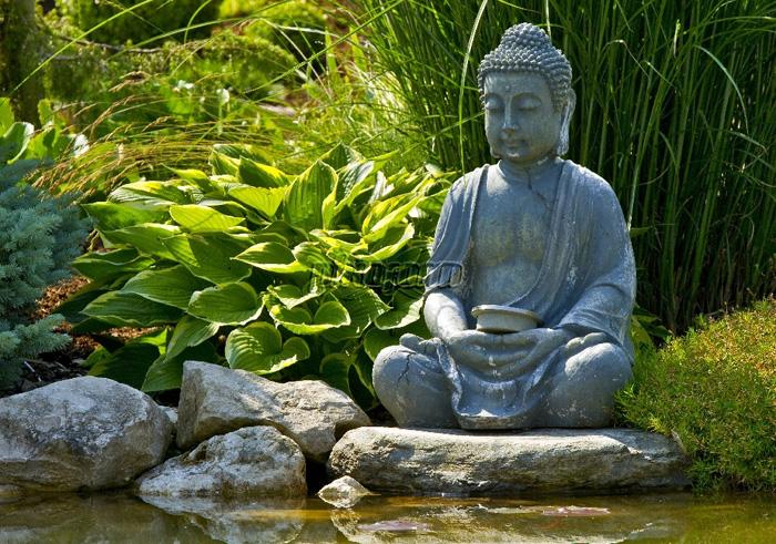 POSTER BUDDHA JAPAN ZEN FRÜHLING RELIGION NATUR YOGA 100 x 70 cm ...