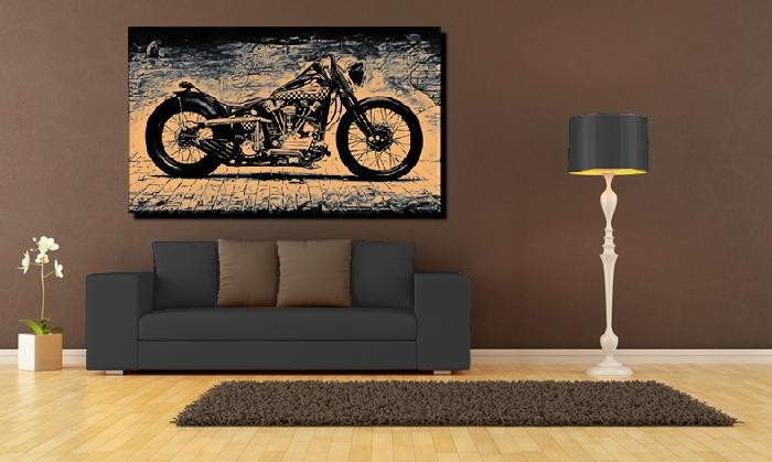 harley wohnzimmer. Black Bedroom Furniture Sets. Home Design Ideas